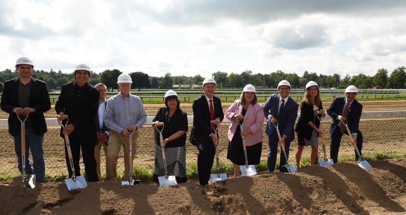 NYRA hosts ceremonial groundbreaking for 1863 Club at Saratoga Race Course