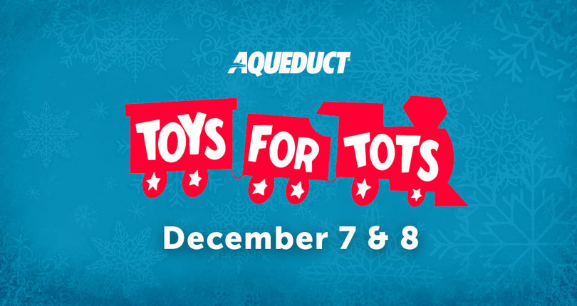 Toys for Tots returns to Aqueduct Racetrack on Cigar Mile Day