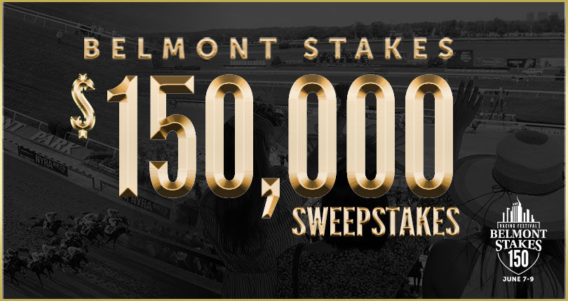Belmont Stakes $150,000 Sweepstakes entry window closes May 18