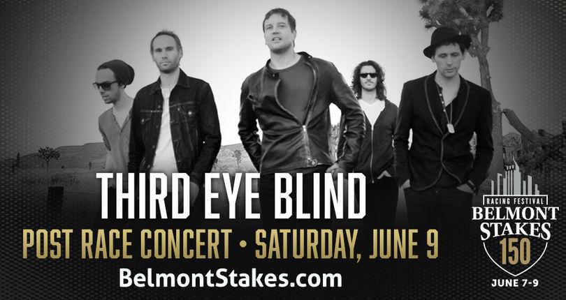Third Eye Blind To Headline 2018 Belmont Stakes Racing