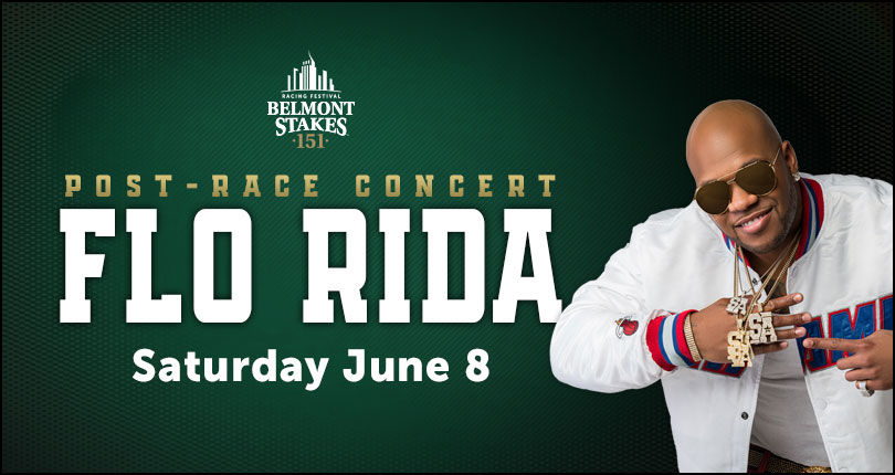 Flo Rida to headline 2019 Belmont Stakes Racing Festival entertainment lineup