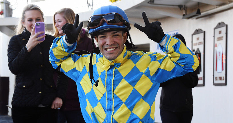 Jockey Benjamin Hernandez earns first NYRA win