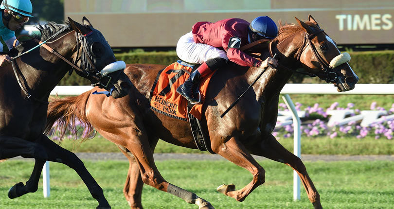 Californiagoldrush strikes blacktype in G2 Sands Point