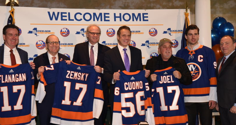 New York Islanders, NYRA to join forces at Belmont Park