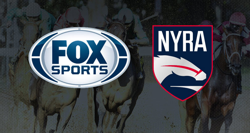 FOX Sports and the New York Racing Association announce most expansive tv programming agreement in h