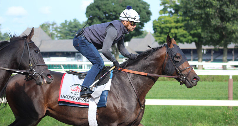 "Gronkowski puts in ""perfect' work ahead of G1 Jockey Club Gold Cup"