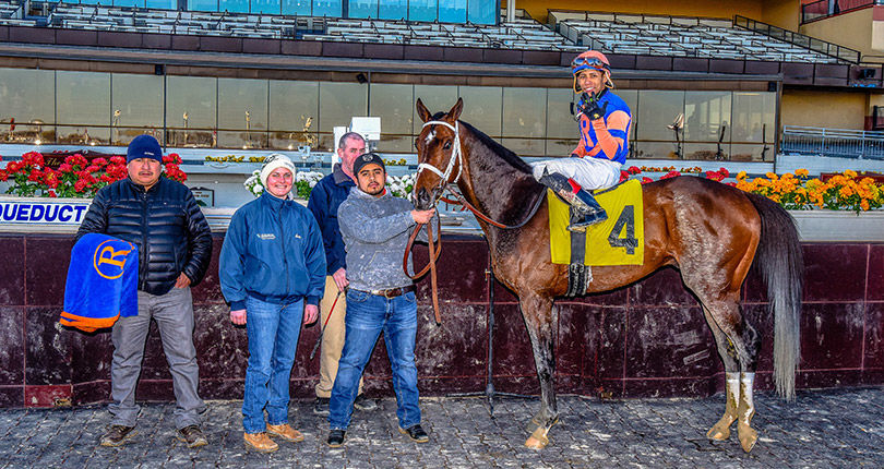 Manny Franco wins Five on Sunday at Aqueduct