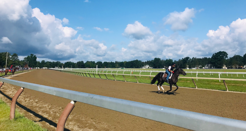 Oklahoma Training Track at Saratoga Race Course to open to essential personnel on June 4
