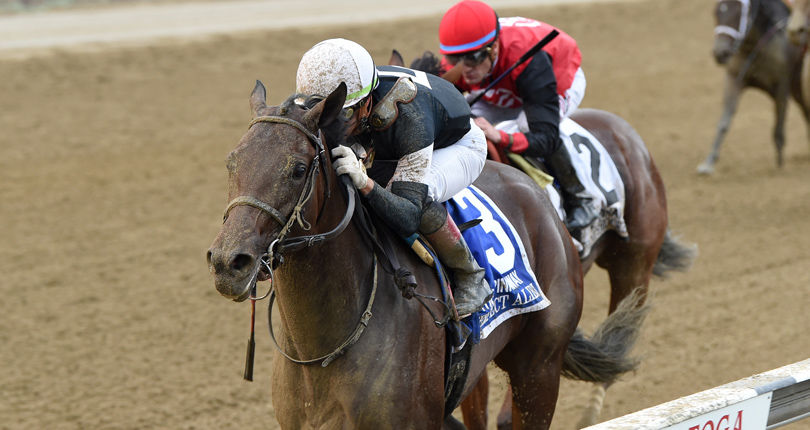 Perfect Alibi has all the answers in G1 Spinaway win