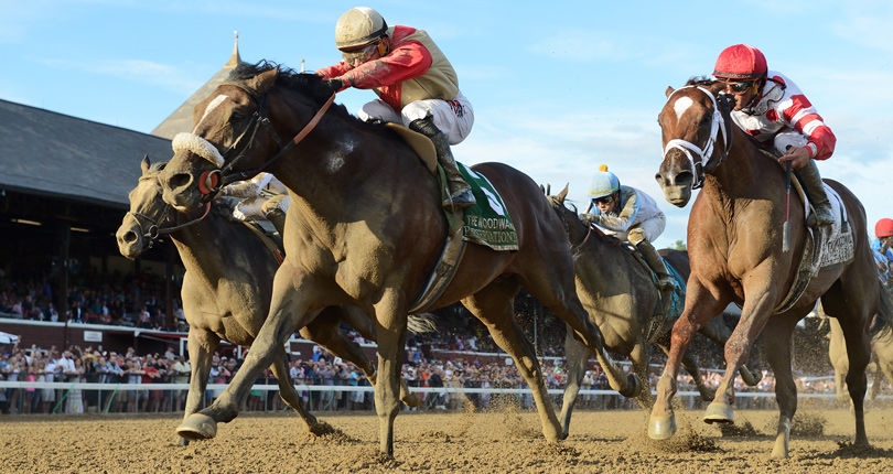 Preservationist's stretch-drive surge caps thrilling finish in G1 Woodward presented by NYRA Bets