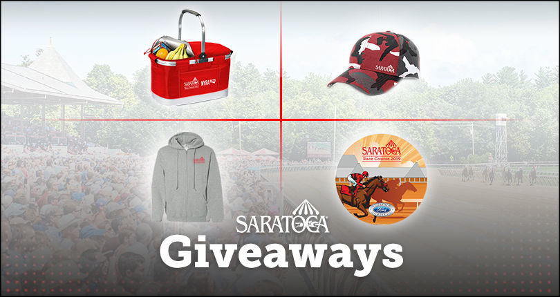 saratoga racing giveaways 2019