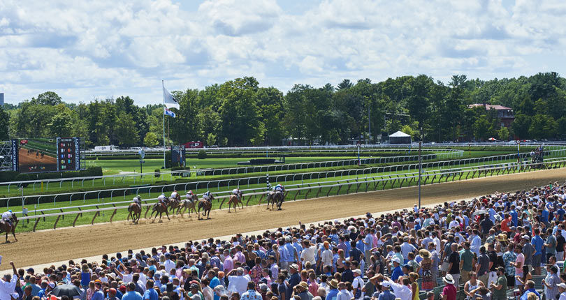 Grandstand and clubhouse admission tickets for Travers Day available at savings with advance purchas
