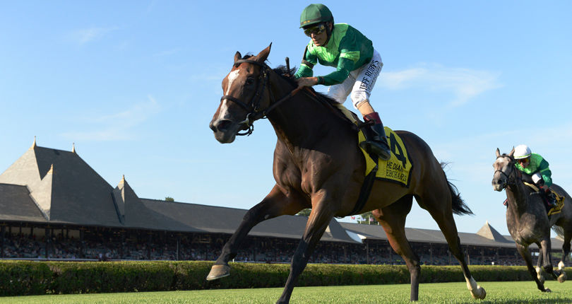 Brown equals record for most Diana wins; graded stakes contenders on the work tab