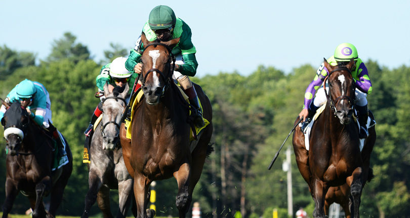 Sistercharlie repeats in G1 Diana; Chad Brown wins race for fourth straight year