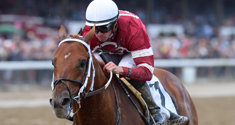 Gun Runner explodes to 10 ¼-length victory in G1 Woodward