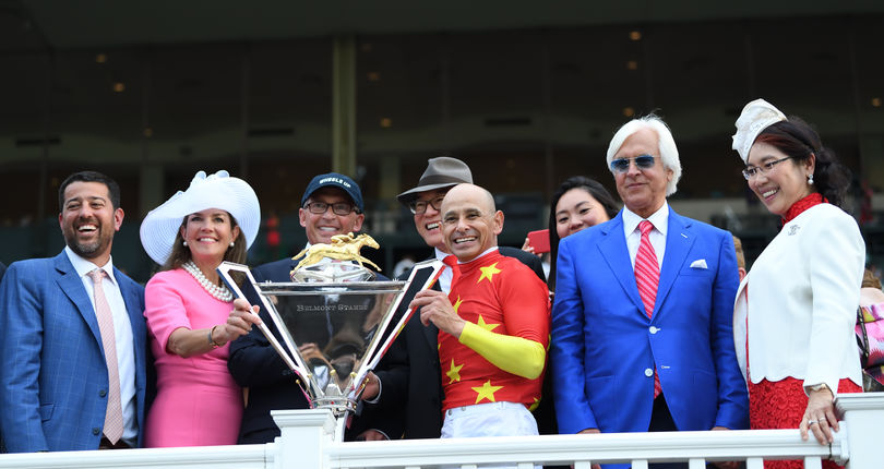 NYRA invites fans to take photos with new Triple Crown trophy to benefit The Lustgarten Foundation a
