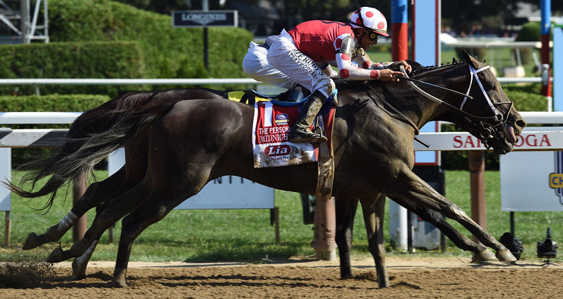 Champion Midnight Bisou seeks back-to-back wins in Personal Ensign by NYRA Bets (G1)