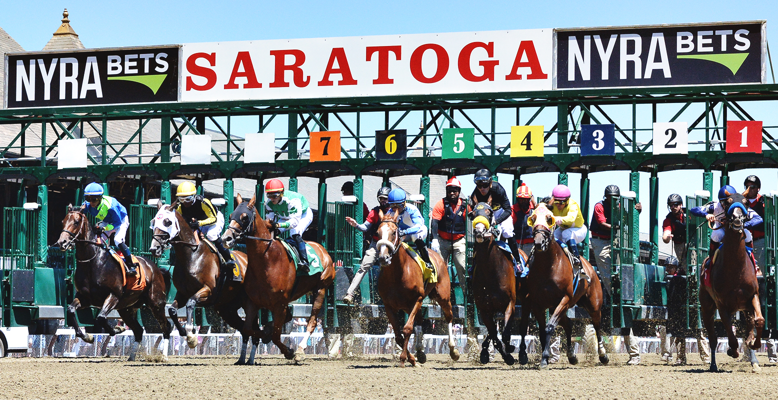 Image result for saratoga race course nyra