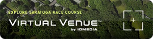 Explore Saratoga Race course with Virtual Venue.